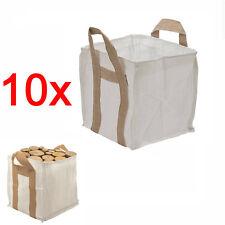 10 pezzi sfusi sacco DETRITI SACCO pesanti sacco ammassare contenitore sacco costruzione