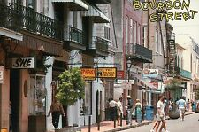 Bourbon Street, French Quarter, New Orleans, LA, Topless Bar, etc. --- Postcard