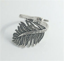 Vintage Woman 316L Stainless Steel Vogue Design Mini Peacock Ring Size 11  NEW