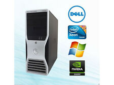 DELL T3500 Xeon  w3530 12gb 256SSD  500gb QuadroFX1800