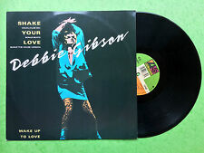 Debbie Gibson - Shake Your Love / Wake Up To Love, Atlantic A9187T Ex+ Condition