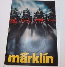 Katalog  Märklin  1977 E  guter Zustand  Englisch ( UW )