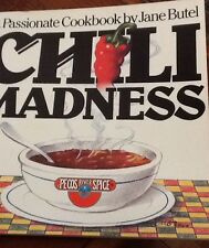 1980 Illustrated History Famous Chef Recipes Chili cookbook Chilies