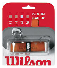 Set di due (2) WILSON Premium Leather Tennis grip di sostituzione, Roger Federer