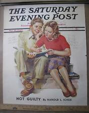 NEWSTAND POSTER ORIG 1940 FRANCES TIPTON HUNTER FIRST LOVE SCHOOL MATH BOY GIRL