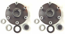 TWO (2) Idler Hub 6 x5.5 Bolt Pattern 3500lb Axle Trailer Dexter ALKO Axel