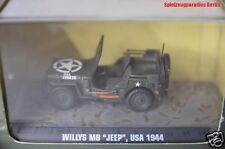 18 ) Atlas Verlag Legendäre Militärfahrzeuge Willys MB - Jeep USA 1944 - 1:43 #
