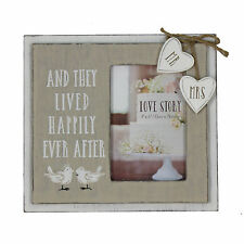 And They Lived Happily Ever After Chic Frame - Wedding Gift Idea - Photo Frame