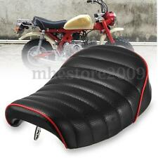 Black Retro Hump Cover Motorcycle Vintage Cafe Racer Seat For Honda MONKEY Z