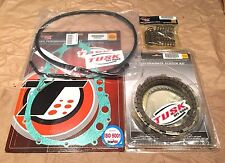 Suzuki Z400 Quadsport 2003-2004 Tusk Clutch, Springs Cover Gasket & Cable Kit