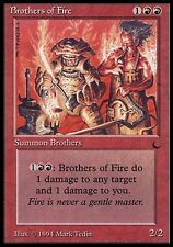 1x Brothers of Fire The Dark MtG Magic Red Uncommon 1 x1 Card Cards