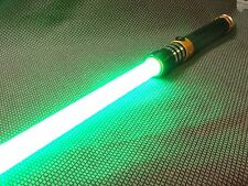 CUSTOM LIGHT SABER 'COLOR BURST' ORANGE TRI-CREE XP-E2 RED VERY BRIGHT
