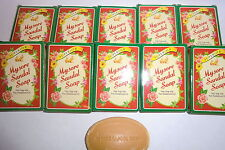 Mysore Sandalwood Oil (Superior)  GUEST SOAPS / TRAVEL  PACK OF 20 -17gm EACH