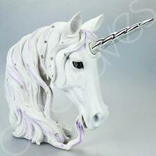 Large White Harmony Unicorn Figure Head Ornament Gift Decoration