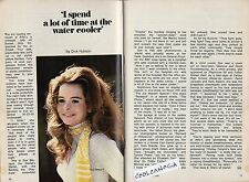 1970 TV ARTICLE~SUE BERNARD~FIRST JEWISH PLAYBOY PLAYMATE DEC 1966~ACTRESS TOO