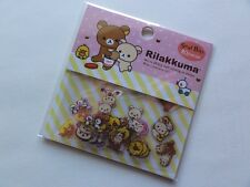 San-X Rilakkuma seal bits flake sack stickers cute kawaii GIFT bear planner SALE