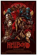 Hellboy 2 II by Ken Taylor Mondo Movie Poster - Rare Sold Out Limited Edition