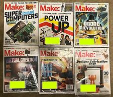 Make Magazine - Issues 49-54 - 2016 Issues