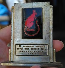 7th armoured division trophy won by 1st Devonshire regt