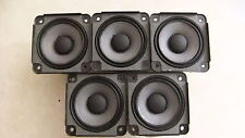 5 X Bose Drivers Loud Speakers Full Range 2.55 inch 4.6 Ohm, 30 Watts RMS