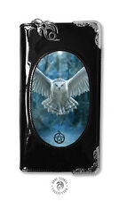 Anne Stokes Purse Awake Your Magic Owl 3D Black Fantasy Lenticular Wallet