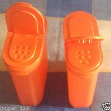 TUPPERWARE spice shakers - Set of 2 Large - Free Shipping - 100 % Genuine