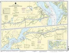 NOAA Chart Chesapeake and Delaware Canal 35th Edition 12277