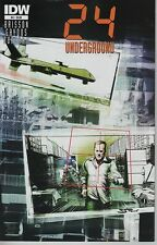 24 Underground #4 FOX TV television show series comic book Jack Bauer