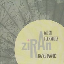 "Agusti Fernandez / Rafał Mazur ""Ziran"" NEW CD, Not Two 2016, MW8412, free impro"