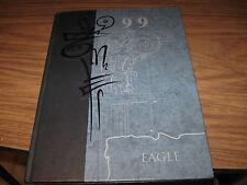 """1999 Canton Galva High School """"Eagle"""" Yearbook Canton, Kansas"""