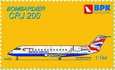 BPK - 14402 - Bombardier CRJ 200 (6 variants of coloring) - 1:144