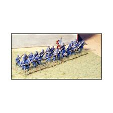 """N SCALE: """"ADVANCING INFANTRY - GREAT COATS & FORAGE CAPS - USA"""" - #ACW66 by GHQ!"""