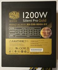 Cooler Master Silent Pro Gold 1200W Power Supply 80 PLUS Gold Semi-Modular Box