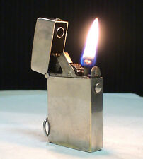 BRIQUET Ancien * R.K ? * Petrol automatic LIGHTER FEUERZEUG ACCENDINO no thorens