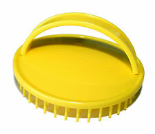 Denman D6 Be-Bop Massage Shower Brush Perfect for Detangling Hair (Yellow)
