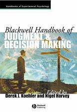 Blackwell Handbooks of Experimental Psychology: Blackwell Handbook of...