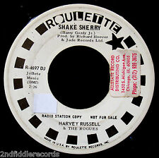 HARVEY RUSSELL & THE ROGUES-Shake Sherry-Garage Surf DJ 45-ROULETTE #4697
