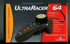 BRAND NEW ULTRA RACER CONTROLLER FOR N64 NINTENDO 64
