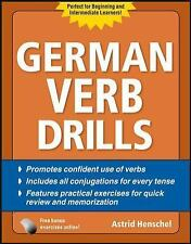 German Verb Drills, Fourth Edition by Astrid Henschel (2010, Paperback)