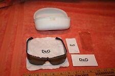 D&G Rhinestone Sunglasses Dolce & Gabbana 6021-B 061/87 125 in Case
