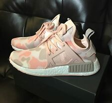 2016 Adidas NMD XR1 Boost Women's Pink Camo Sneakers Running Shoe 9 US 7.5 UK