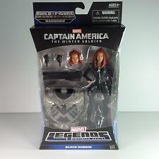 NEW Marvel Legends - BLACK WIDOW - Captain America  BAF Mandroid +FREE SHIPPING+