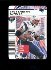 2003 NFL Showdown ANTOWAIN SMITH New England Patriots Rare Gold Foil Insert Card