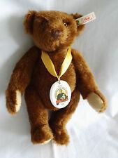 Steiff teddy Marguerite steiff teddy 28 en marron foncé année 1997 photos