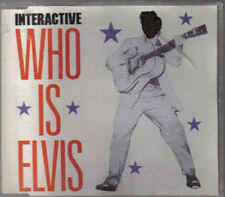 Interactive-Who Is Elvis cd maxi single