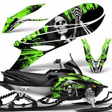 Yamaha APEX Decal Wrap Graphic Kit RTX GT MTX LTX Sled Snowmobile 14-16 REAP GRN