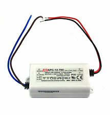 1x LED Power Supply Constant Current Driver APC-12-700 700mA 12W 9~18V Mean Well
