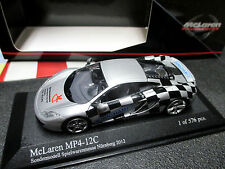 1/43 McLaren MP4-12C Messe-Modell Nürnberg 2012 MINICHAMPS 533 133023 MINT !