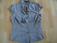 COMMA schöne Bluse mit Rüschen Gr. 40 NEU (ZC814)