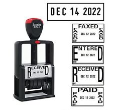 Imprint 5-in-1 Self Inking Date+Massage Stamp